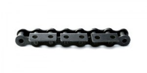 Rollenkette Anbauteil 90° einseitig_roller chain attachment 90° 1 side_2 holes_EngMec